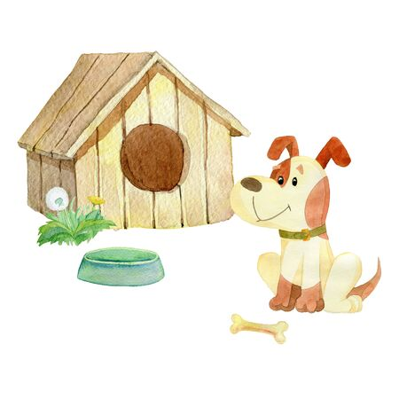 doghouse: House for dogs
