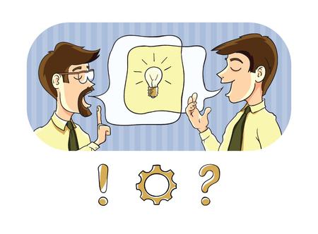Exchange of information 向量圖像