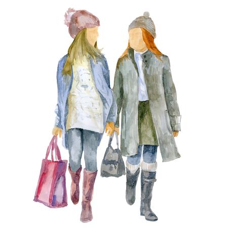 Two girls girlfriends 版權商用圖片