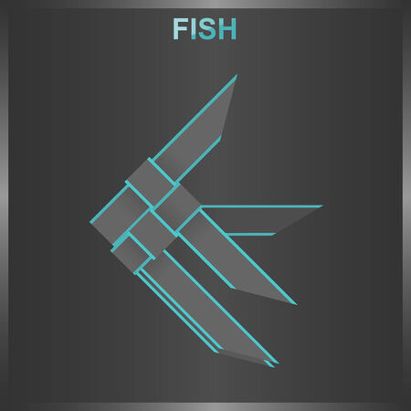 tron: Fish weave Illustration