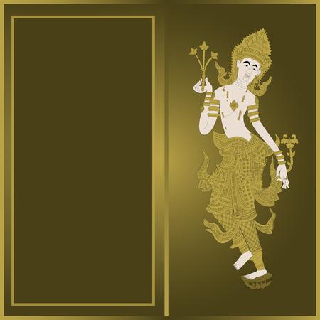 thai dance: Thailand pattern