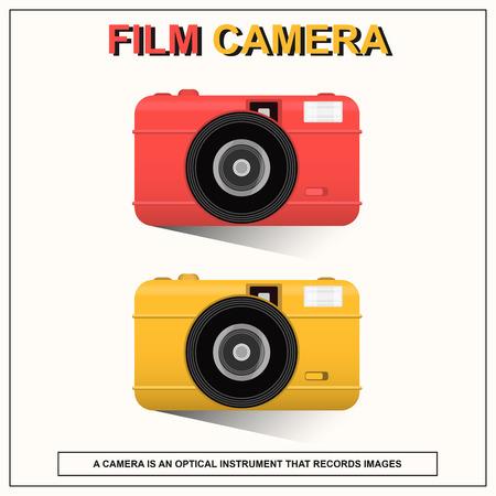 lomo: Film Camera Illustration