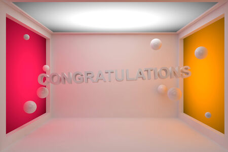 Congratulations 3D photo