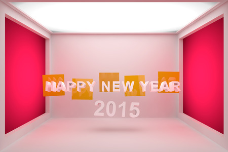 beatification: Happy New Year 2015 3D