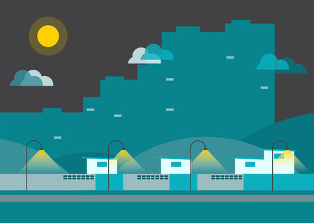 Town City infographic Vector