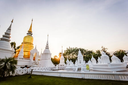 budda: temple in chiangmai Stock Photo
