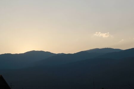 mountains and sky: Mountains sky nature view