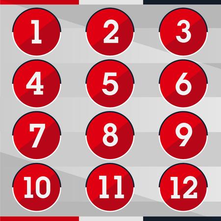 gunner: Red circle Number