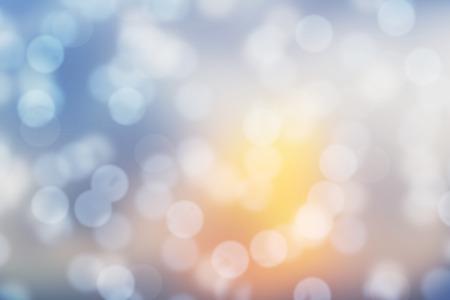 慶典: 陽光鏡頭模糊背景