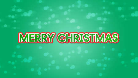 title emotions: merry christmas text with cyan background