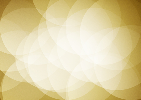 overlap: Brown Bright Circle Overlap abstract background Stock Photo