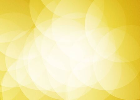 overlap: Gold Bright Circle Overlap abstract background