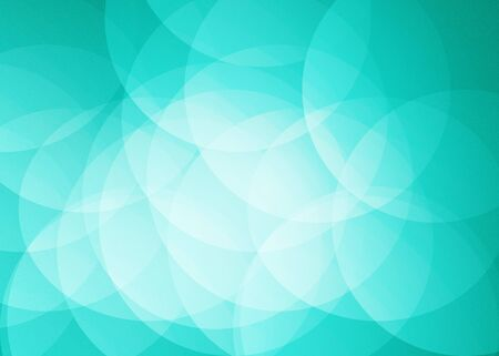 overlap: Blue Bright Circle Overlap abstract background