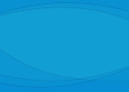 copyspace: Blue Curves Copyspace Stock Photo