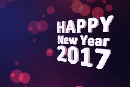 GRADIANT: happy new year 2017 background