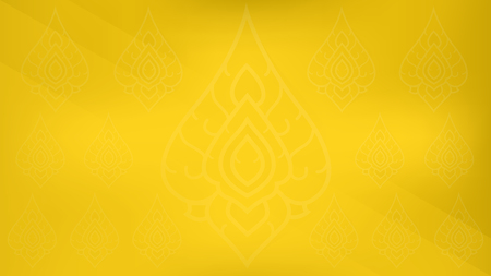 Thai gold graphic background