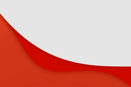 red presentation template curve modern background