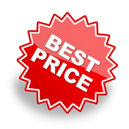 best price, promotion label & icon