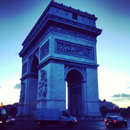 LArc De Triomphe Фото со стока