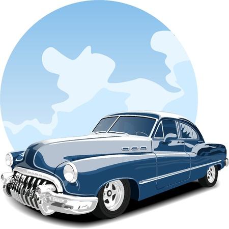 classic car: Vintage car