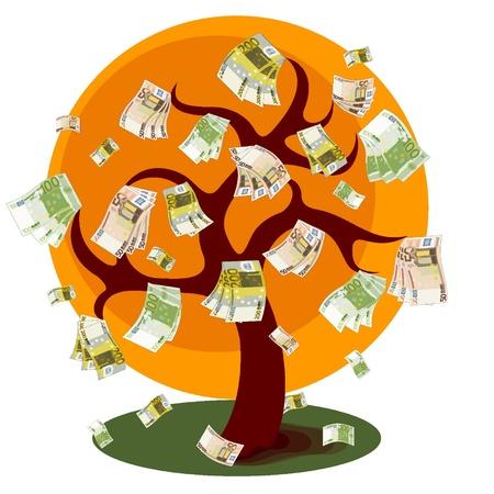 Dinero árbol