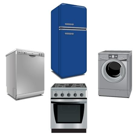 몇 가지 중요한 가전 제품과 주방