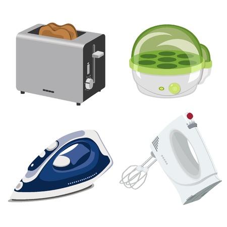 Algunos aparatos electrodomésticos pequeños