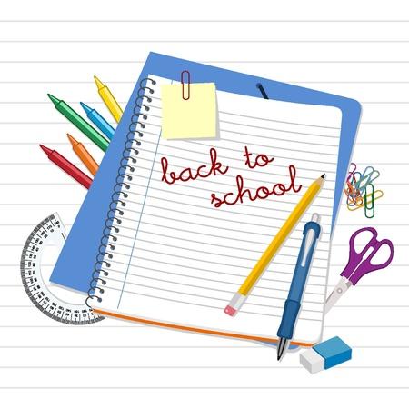 waxes: Back to School Illustration
