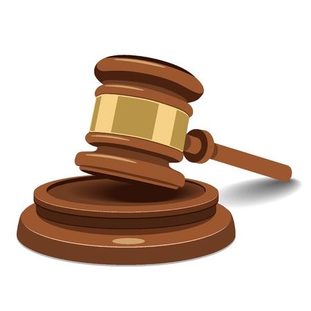Judge Hammer Stock Vector - 18134232