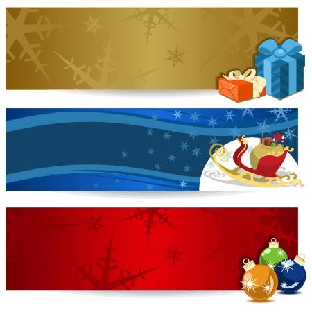 Christmas Wallpapers Stock Vector - 18134288