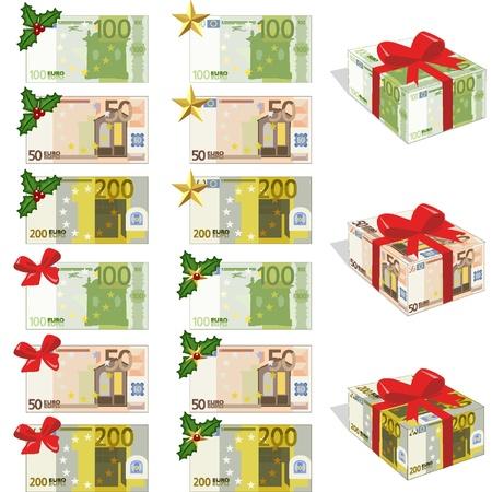 Dinero y euros Vectores