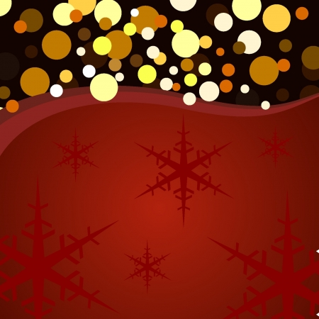 background Christmas lights and stars Stock Vector - 18134242