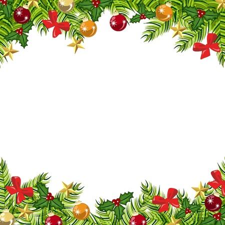 Antecedentes bolas, regalos de Navidad y estrellas