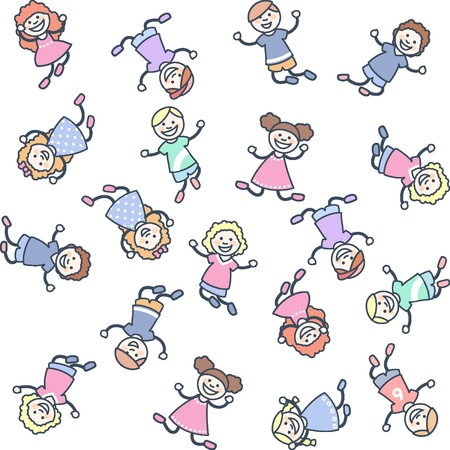 Children Stock Vector - 18134327