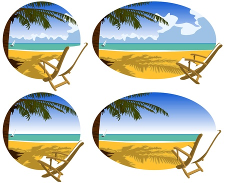 Vacaciones en la playa Foto de archivo - 18134291