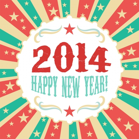 Year 2014 Vectores