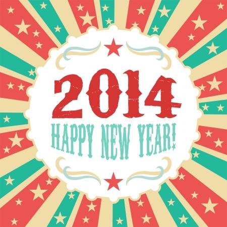 Year 2014 Illustration
