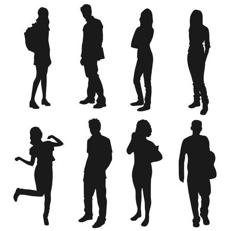 Jongeren Stock Illustratie