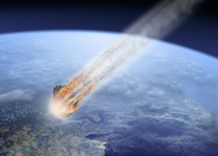 asteroid: Asteroid impact Earth