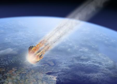 impact: Asteroid impact Earth