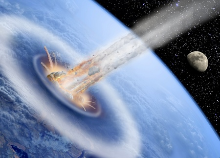 asteroid: Asteroid hits Earth