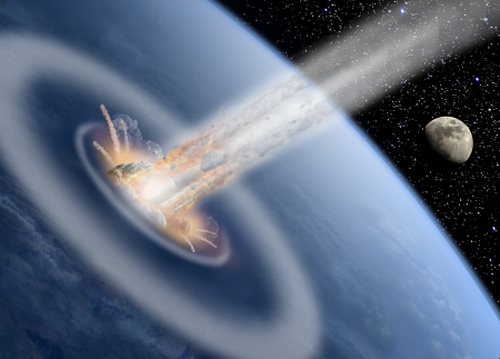 cataclysm: Asteroid impact Earth