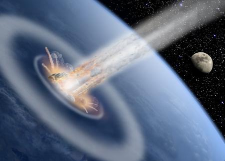 asteroid: Asteroid impact Earth