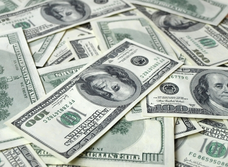 lots of american hundred dollar bills Stock Photo - 18028709