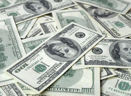 lots of american hundred dollar bills Stock Photo - 18028709