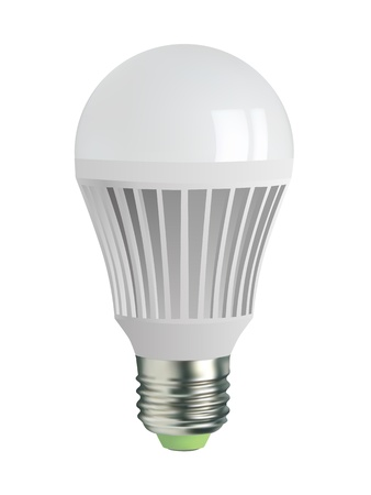 led light bulb: light bulb Illustration