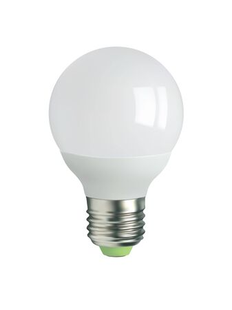 glower: LED light bulb Illustration