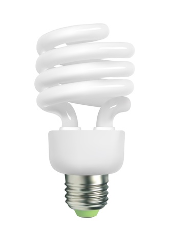 glower: spiral light bulb