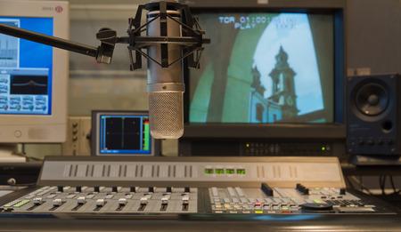 テレビの生産のスタジオのインテリアのプロのコンデンサー マイク