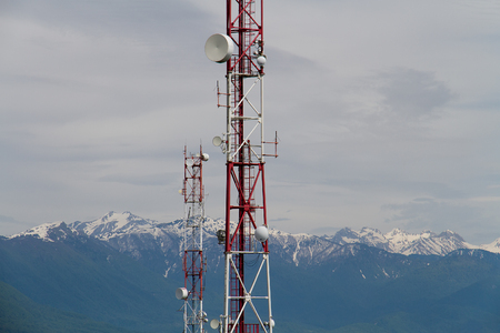 Telecoms Tower Stock Photos And Images - 123RF